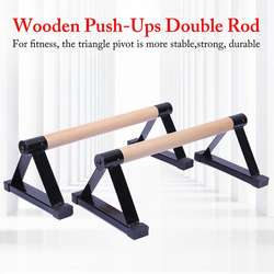 High Quality Wood Parallettes Set Stretch Stand Calisthenics