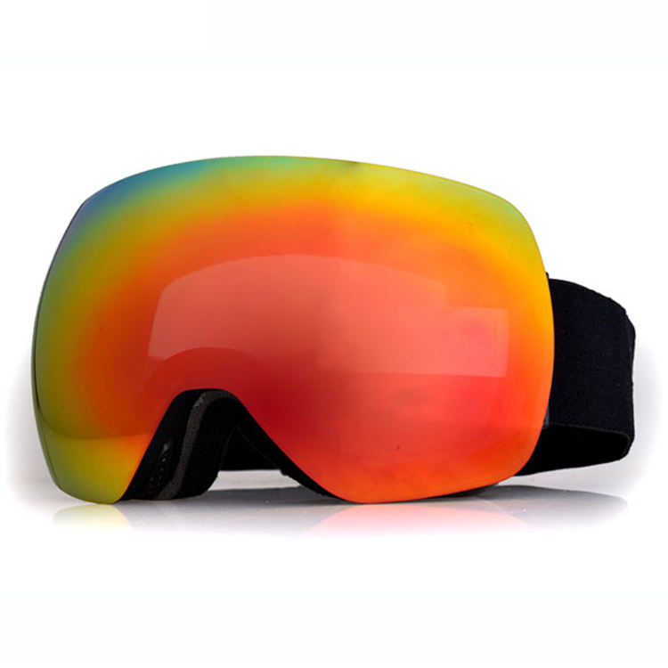 Custom fashion design anti fogging magnetic snowboard ski goggles