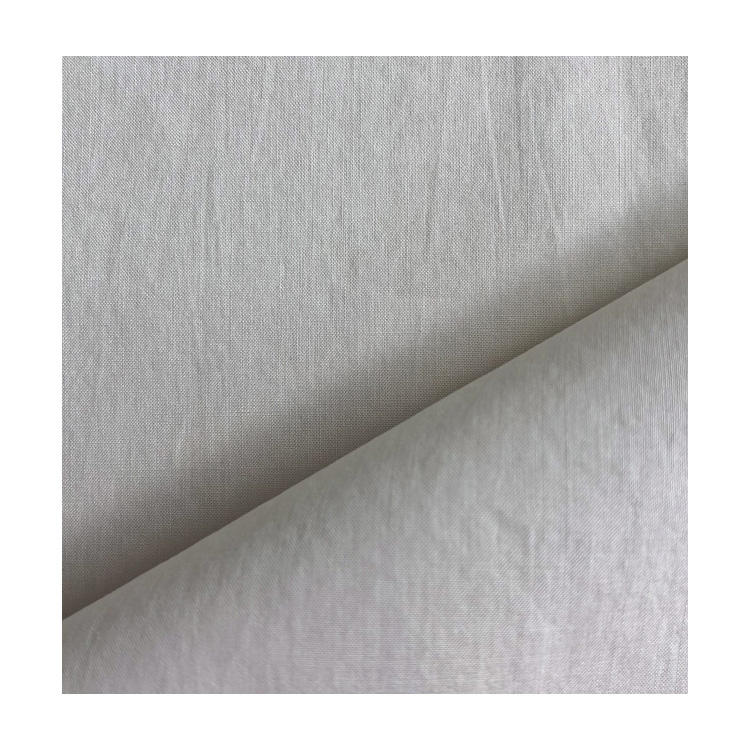 High quality 100% white cotton poplin solid fabric for clothes