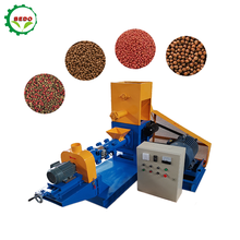 Factory Price Fish Food Making Extruder Extrusion Machine