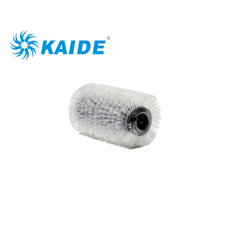 Professional Industrial Brush for machine rotating clean transparent nylon brush roller