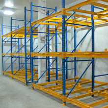 Heavy Duty Warehouse Adjustable Push Back Pallet Racking System