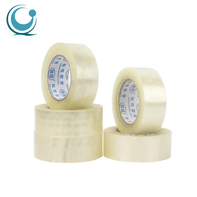 Custom Printed Acrylic Adhesive Material Bopp Packaging Tape Without Bubbles