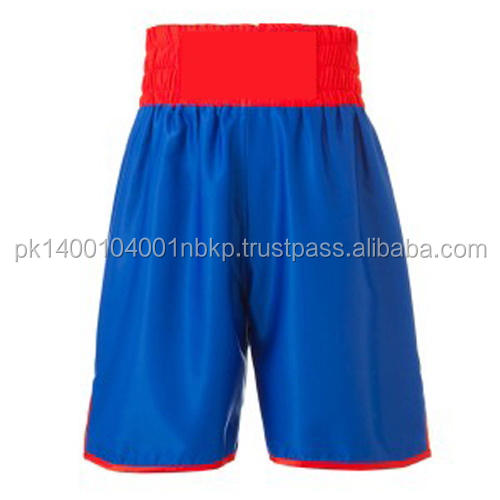blue color boxing fight boxing short