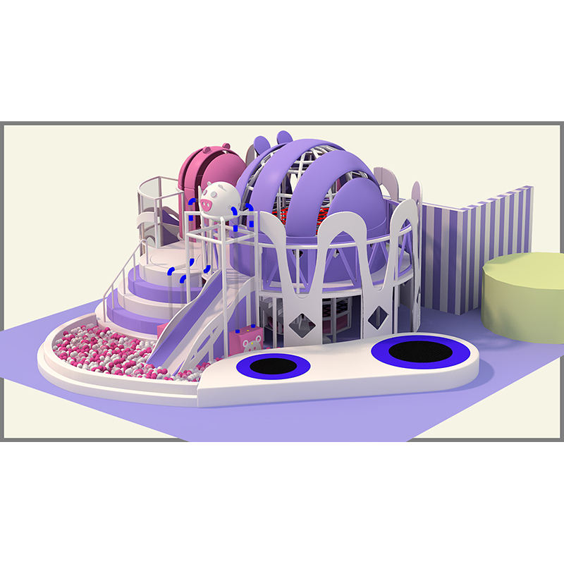 Attractive Labyrinth Children Play Gym Indoor Playground Equipment