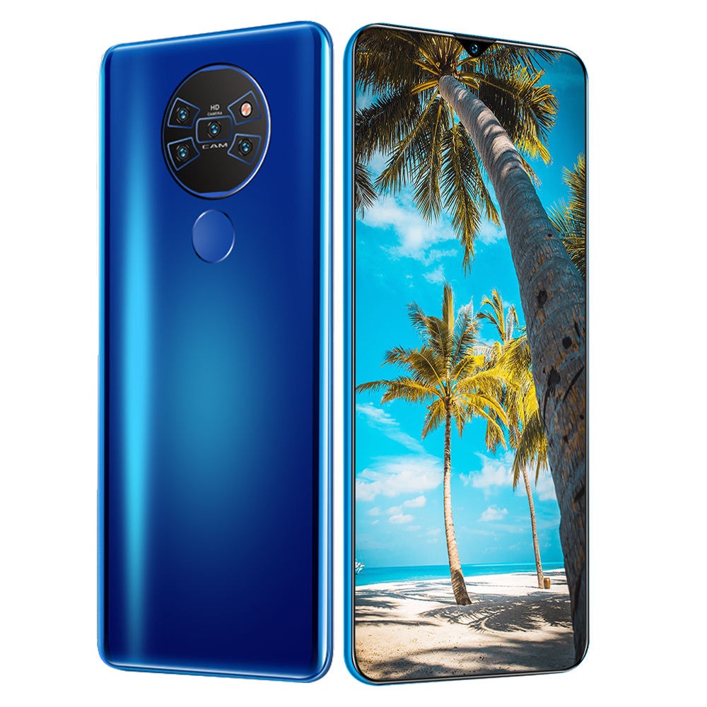 2021 Cheapest Dual SIM Mate40pro+ Card Mobile Phone 7 inch Touch Screen For Free Sample