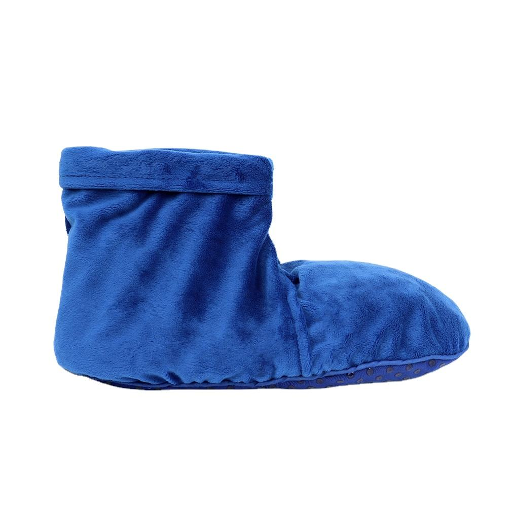 2020 Moist heat therapy foot booties warm slipper foot care
