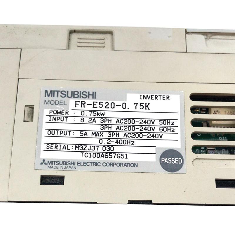 1pcs Used Mitsubishi inverter FR-E520S-0.4K