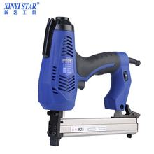XINYI M25 18Gauge electric Staple Gun wooden stapler machine for wood