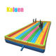 Inflatable bouncing playground for inflatable park protection bouncer