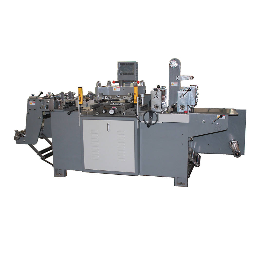 high speed 300 cuts per minute paper label automatic punching die cutting machine