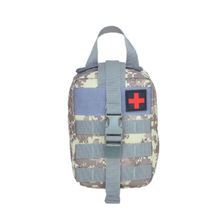 600D Polyester first aid medical bag tactical medical kit for sale Camouflage color
