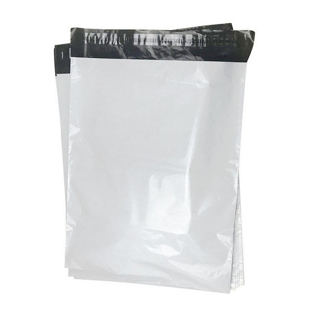 25*35+4cm White Flyer Express Mail Poly Plastic Courier Shipping Mailing Bag