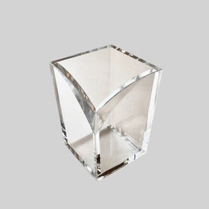 High-End Clear Acrylic Pencil Holder