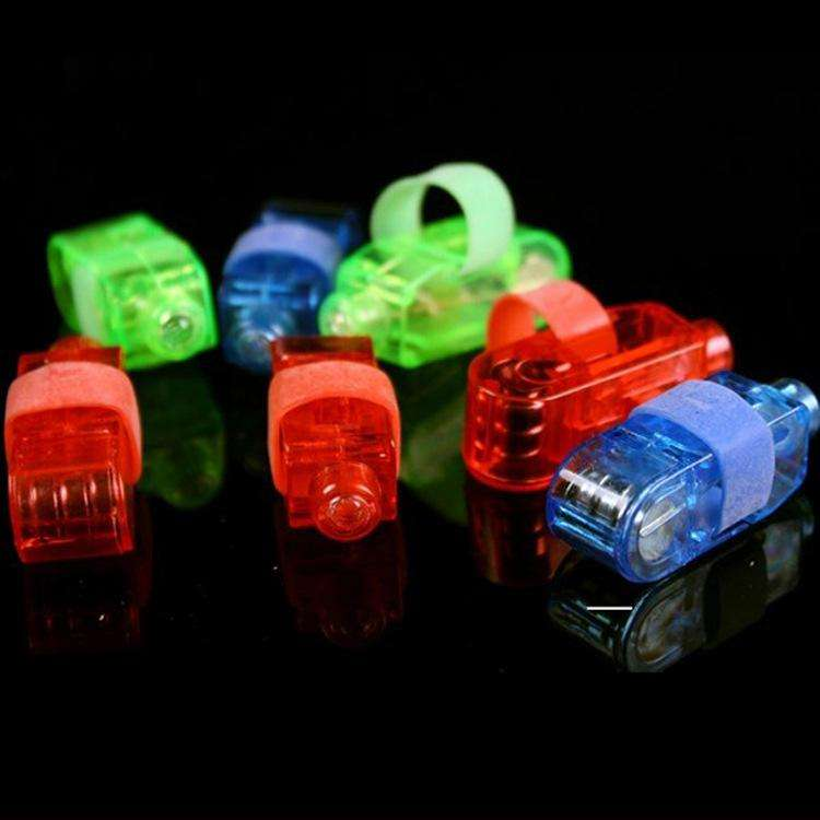 Manufacturers sale LED Finger Lamp LED Finger Ring gifts Lights Glow Laser Finger Beams LED Flashing Ring Party Flash Kid Toys 4