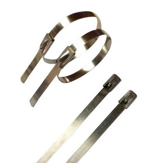 High quality S201 S304 S316 material 8*1000mm Self Locking Stainless Steel Cable ties Zip Ties Uncoated
