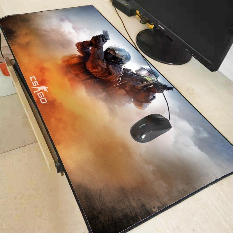 Large Mouse Pad Counter Strike Non-slip Keyboard Mouse Mat for CS GO Gamer Mousepad game accessories table pad