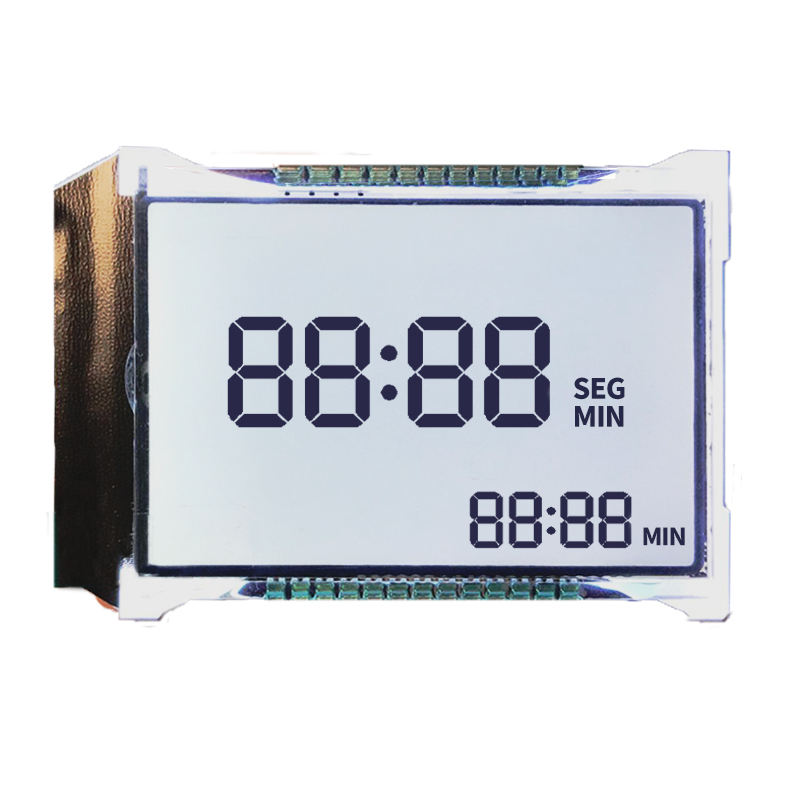 Custom HTN Segment LCD Positive 7 Segment LCD Display 4 Digit Transflective 7 Segment LCD Display Backlight