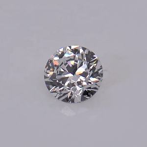 Forever Star Synthetic D Color Round Brilliant Cut Excellent Grade VVS1 White Big Size Loose Moissanite Diamond Stone
