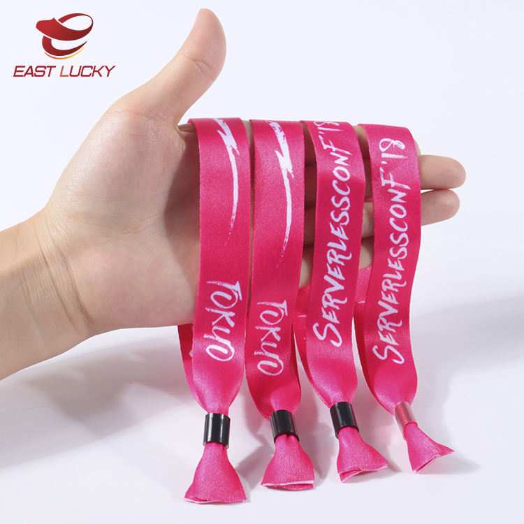 2020 hot selling fabric custom cloth sublimation wristbands