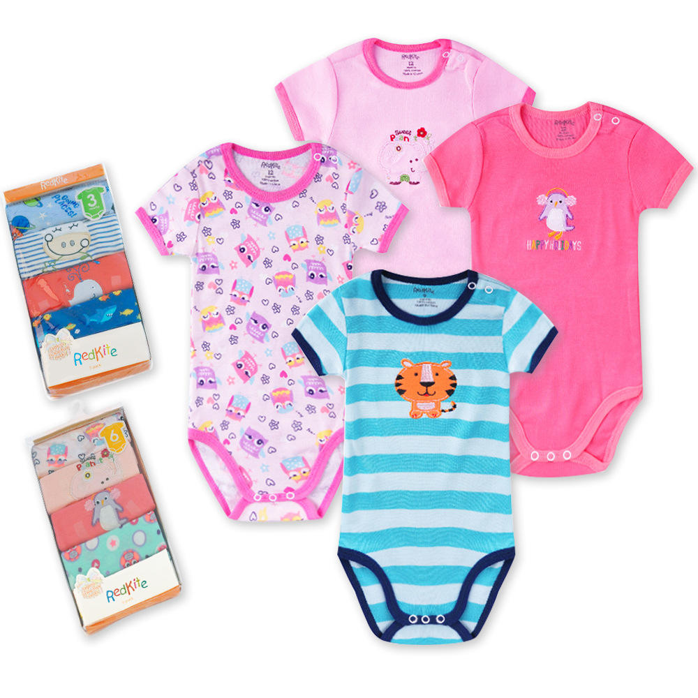 Wholesale cheap price Hot Selling Baby Clothes Pure Cotton Newborn Romper For Baby Boys&Girls