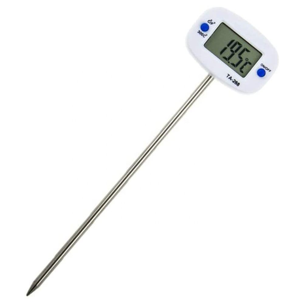 New Digital Food Thermo Meter BBQ Meat Oven Milk Water Oil Kitchen Cooking Electronic Probe Temperature Meter