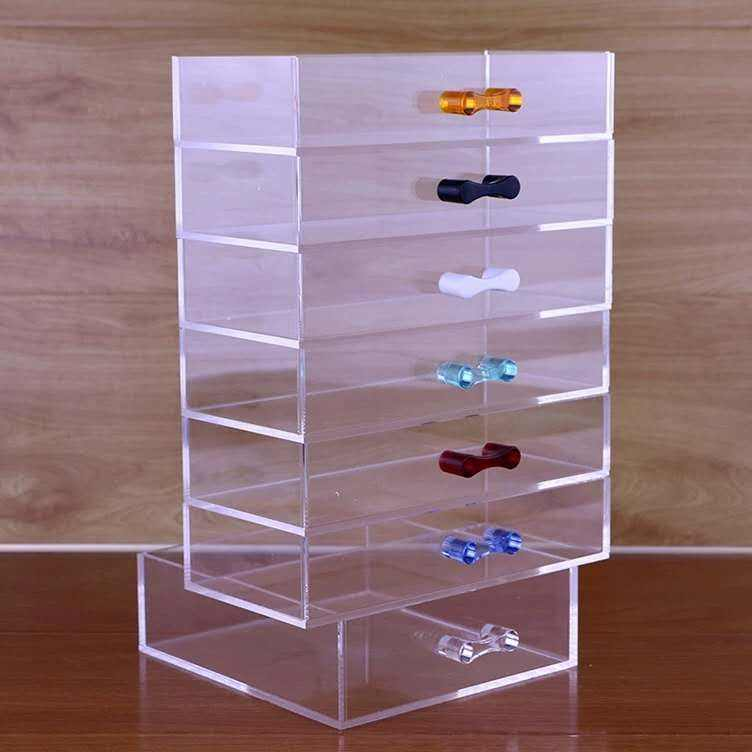 Color Fancy Plexiglass Drawer Handles Crystal Clear Acrylic Cabinet Handles
