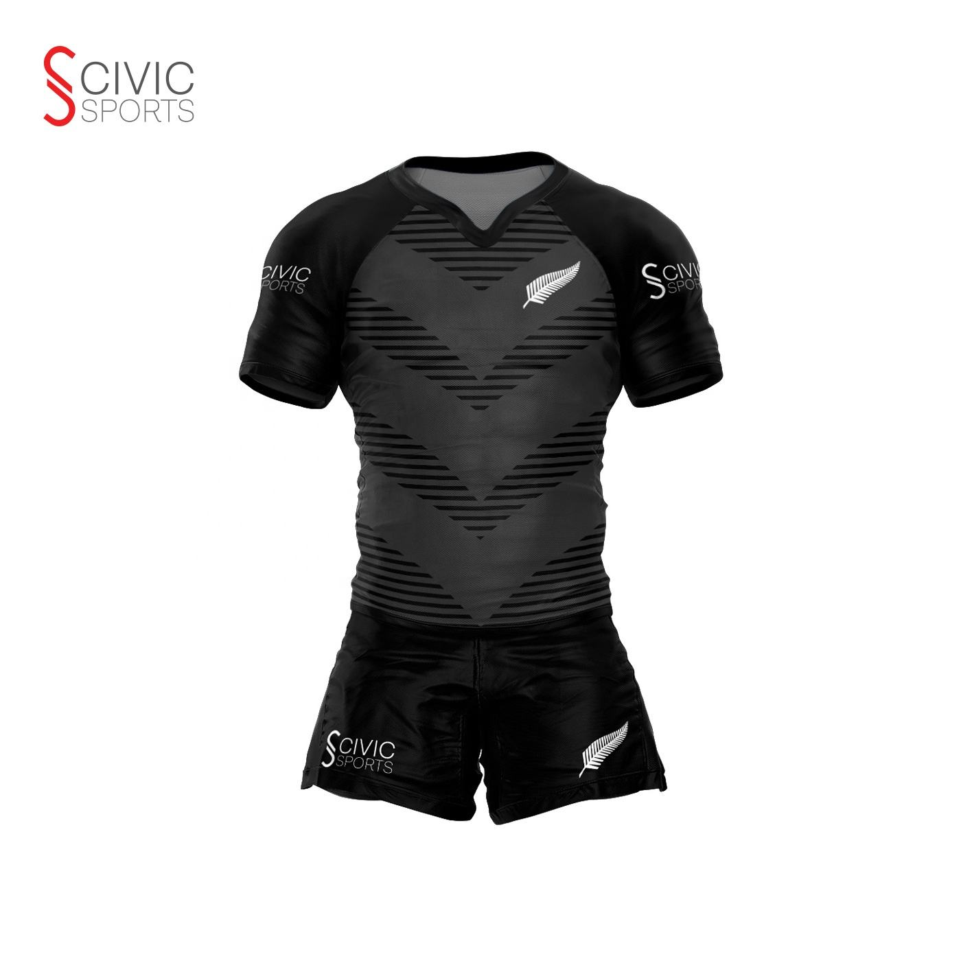 OEM Suppliers Rugby Shirts League Uniforms And Shorts Cheap Football Wear Custom Rugby Jersey For Sale