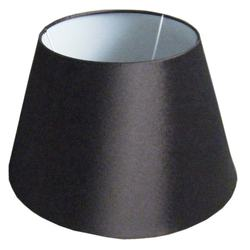 Dongguan Best Selling Oval Black Handmade Indoors Polyester Varnished Fabric Lampshade