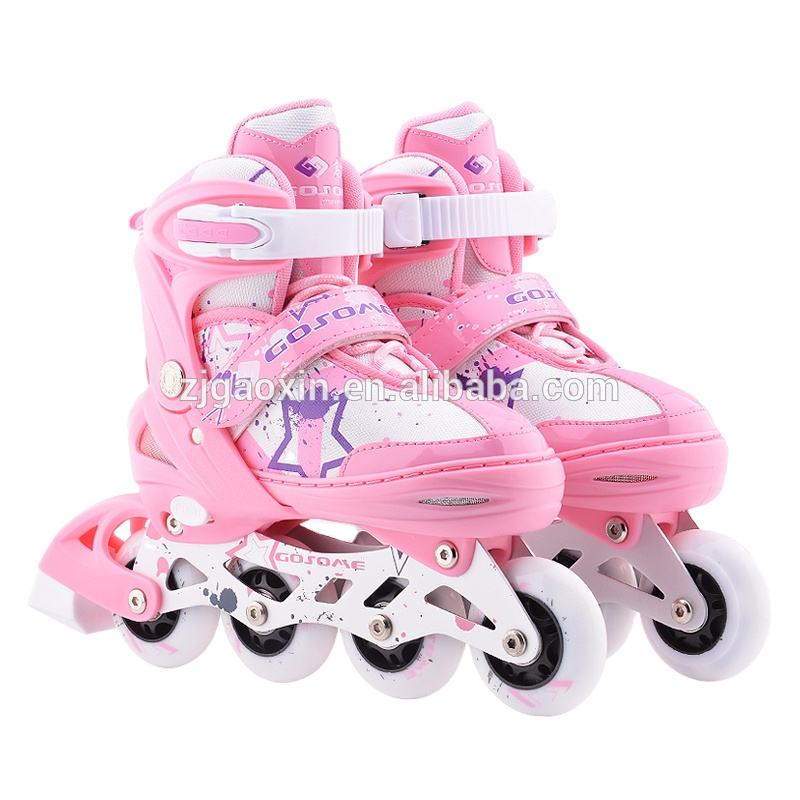 GOSOME GX-1507 Adjustable new coming Shoes For Man Luminous inline skating Light Up Shoes roller skating for kids