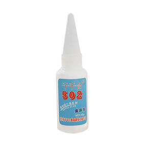 Chinese popular cyanoacrylate adhesive 502 transparent super glue for metal,rubber,plastics,wood,ceramic clear liquid adhesive