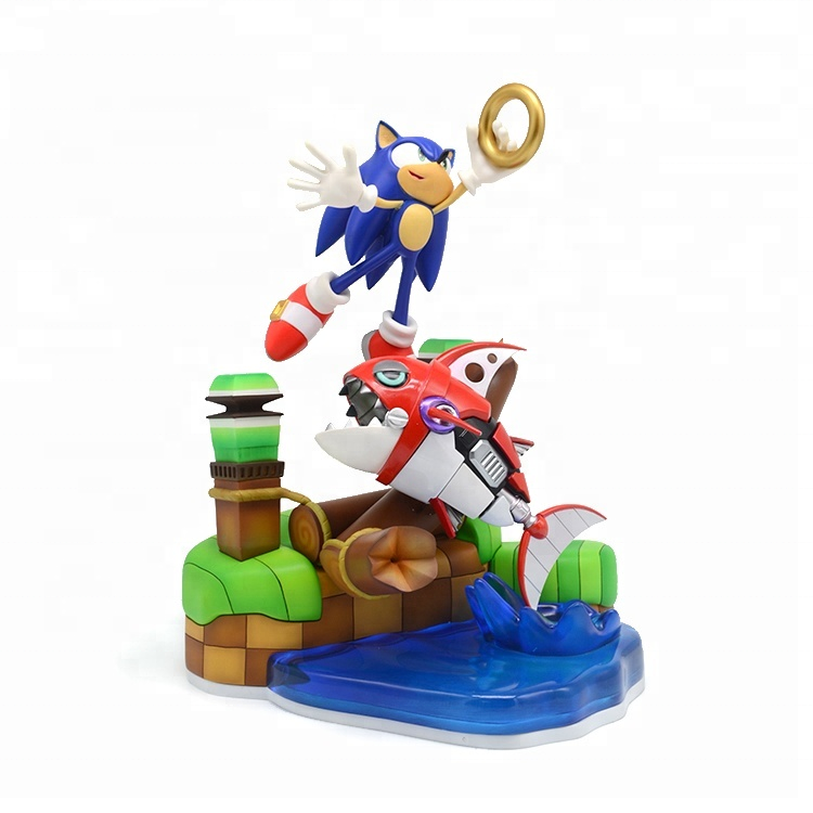 Anime Resin Action Figure Craft Sonic Toys Figurines