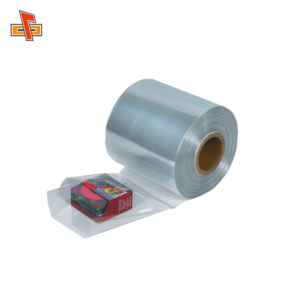 Cina Produsen Pof/Pet/PE/PVC Panas Menyusut Film/Clear Heat Shrink Plastik Wrap Film roll
