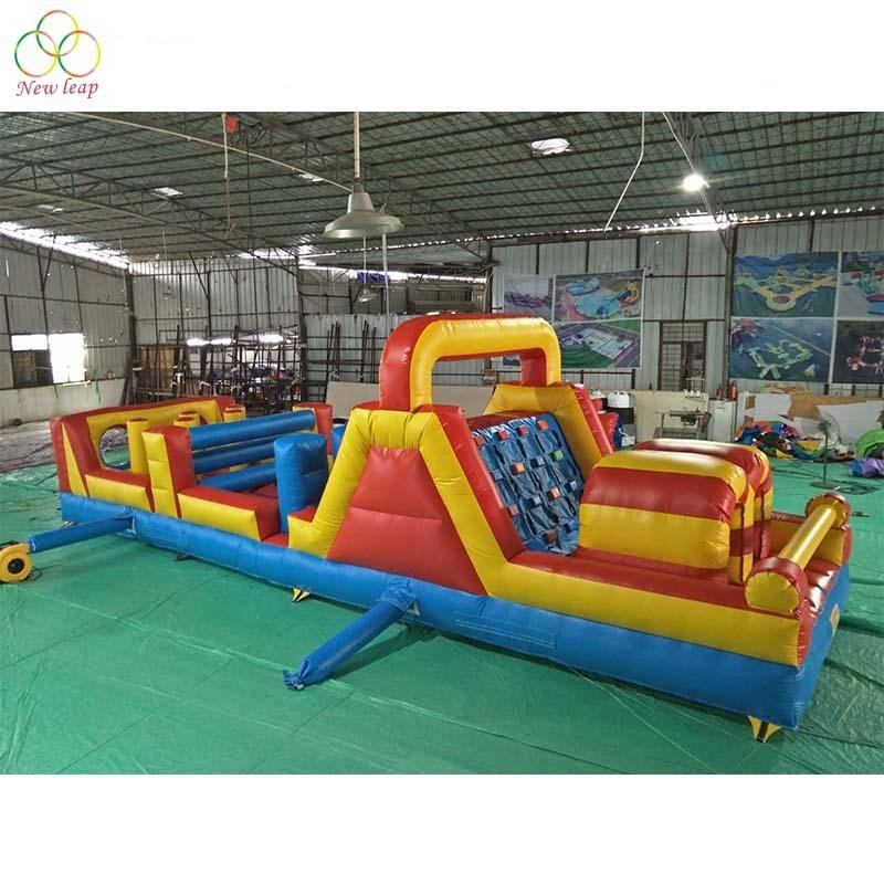 Commercial inflatable obstacle game course outdoor inflatable obstacle