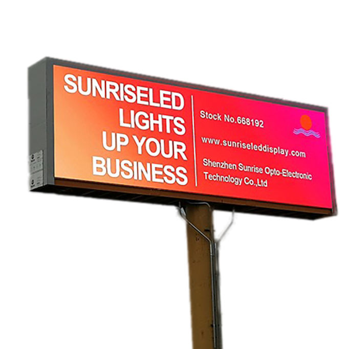 HD outdoor hoge kwaliteit full color reclame led display/led-scherm/led video wall P6 P8 P10