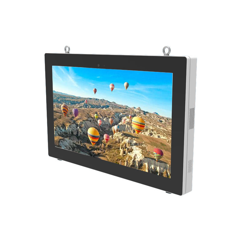 Outdoor 55 Inch Mediaspeler Lcd Monitor Met Android Systeem Spelen Reclame Digital Signage Wall Mount Smart Board