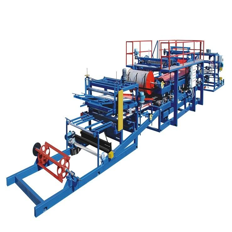 FX rock wool panel and eps sandwich panel machine line