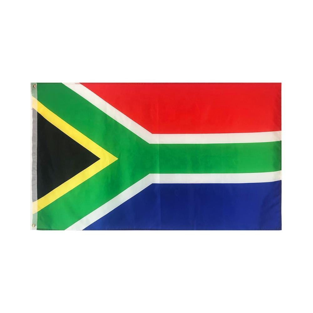 best selling wholesale sublimation festival outdoor South Africa flags