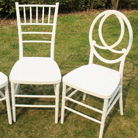 outdoor plastic white small stackable chair