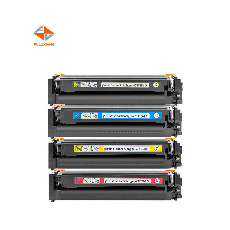 FULUXIANG 203A CF540A CF541A CF542A CF543A for HP LaserJet Pro M254/M254dw/254nw Printer Toner Cartridge