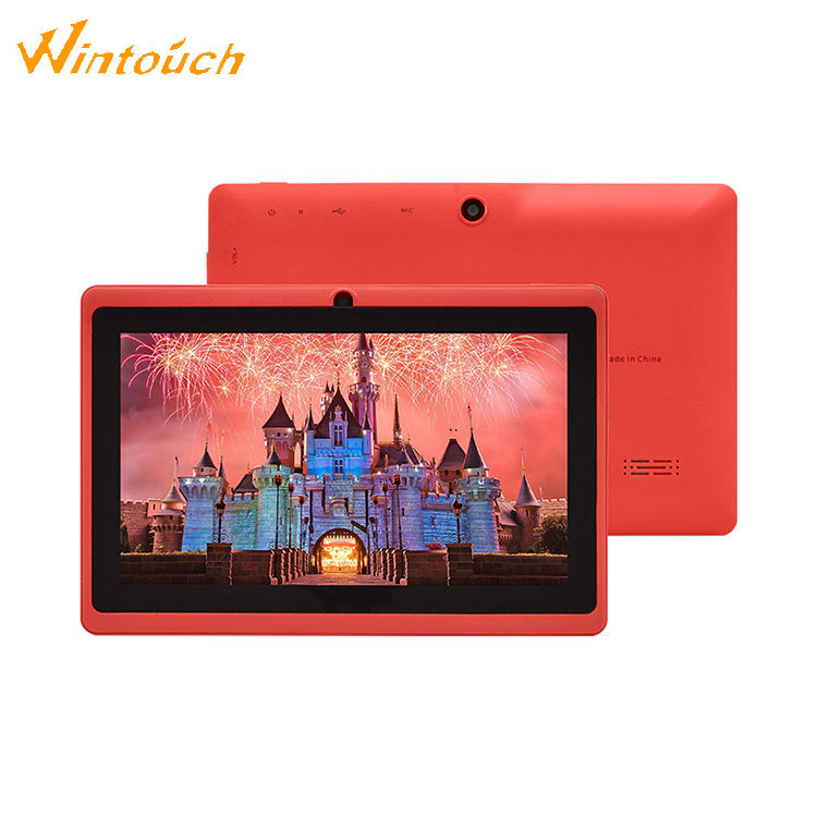 China factory price 7 inch wintouch kids tablet tab android quad core tablet pc without sim card