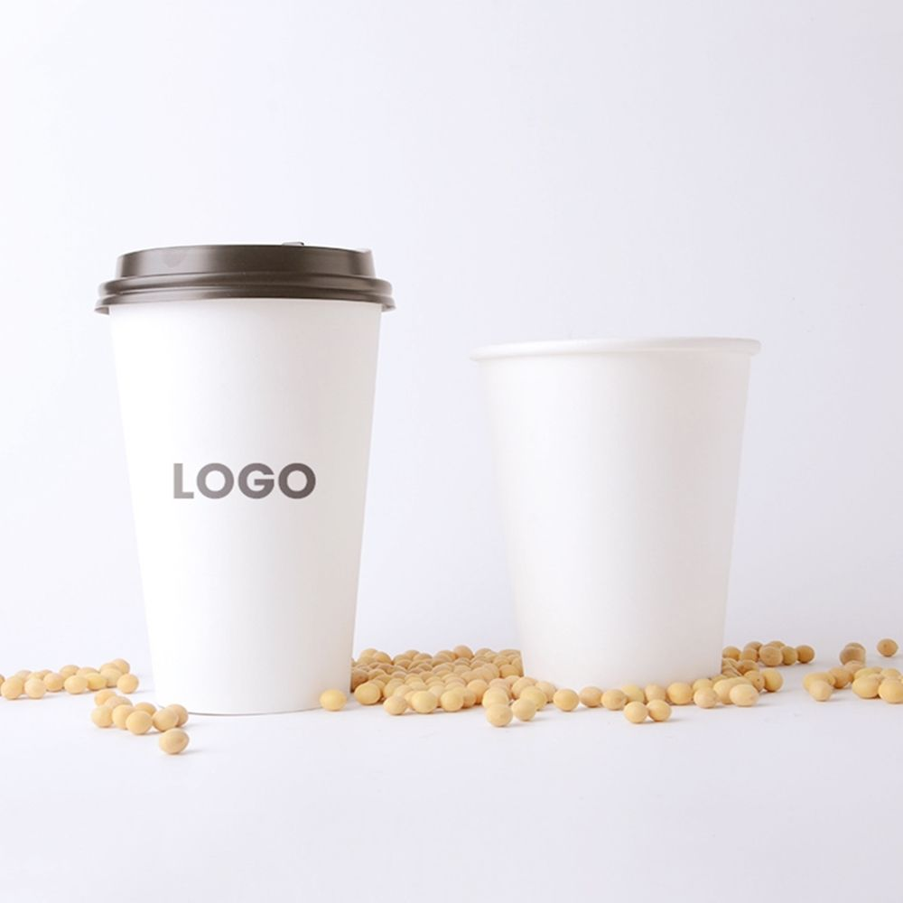 Custom logo Professional film Disposable paper cup beverage cup Save freight cost