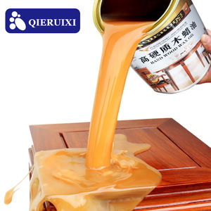 QIERUIXI Natural High Temperature Resistant Anti-UV Antiseptic Wood Wax Oil Spray Brush Paint Coating Waterproof