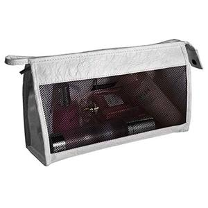 2019 Hot Selling Eco-friendly Tyvek Travel Cosmetic Bag Portable Makeup Storage Bag with Clear Window