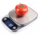 PinXin 2019 electronic 5kg kitchen scale 0.1g stainless steel food weighing scale