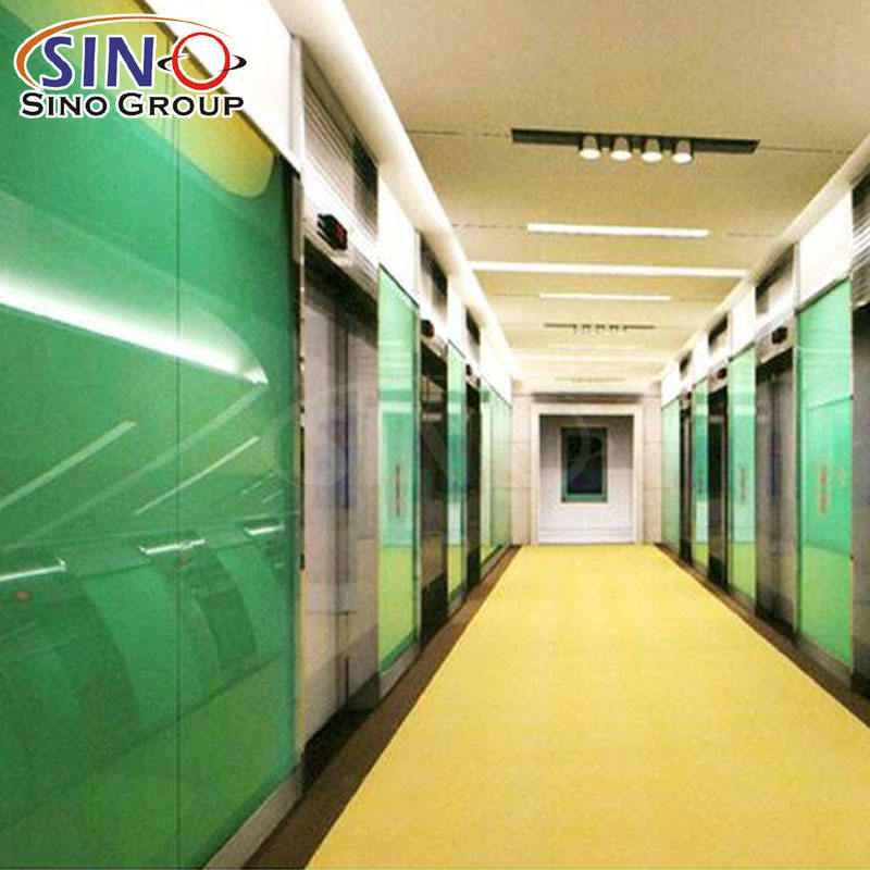 SINO UV Resistant Building Mirror Window Protection Glass Tint Film