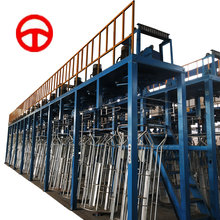 Galfan steel wire hot dip galvanizing equipment