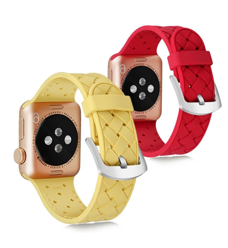 For Apple Watch Band,For Apple Watch Strap,Silicone Sport Smart Watch Band For Apple iWatch Accessories 38/42/40/44mm