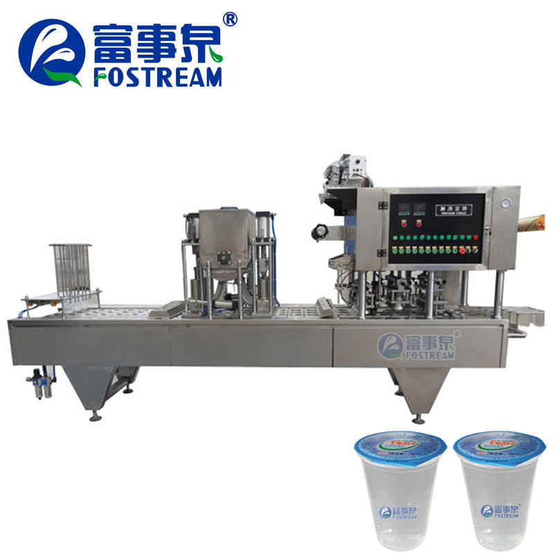 High Quality Automatic Plastic Drinking Mineral Water Cup Sealing Machine