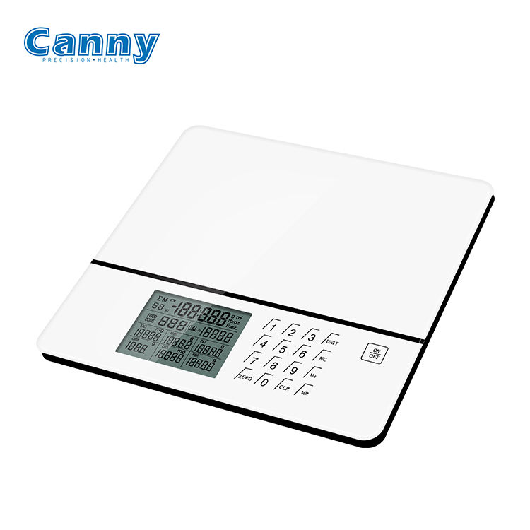 Canny New Launched Fashion Design Big Platm Cooking Nutrition Scale